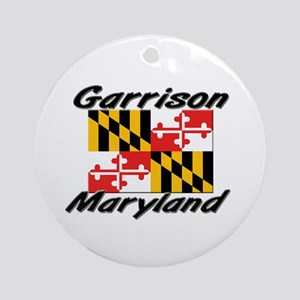 Garrison Maryland Ornament (Round)
