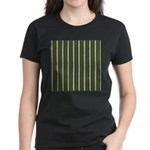 Green Pattern 002 Women's Dark T-Shirt