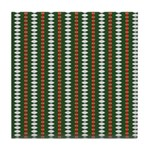 Green Pattern 002 Tile Coaster