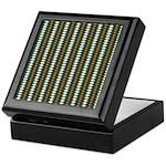 Green Pattern 002 Keepsake Box