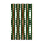 Green Pattern 002 Rectangle Sticker
