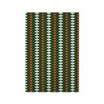 Green Pattern 002 Rectangle Magnet (100 pack)