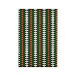Green Pattern 002 Rectangle Magnet