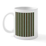 Green Pattern 002 Mug