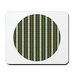 Green Pattern 002 Mousepad
