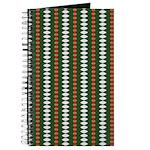 Green Pattern 002 Journal