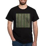 Green Pattern 002 Dark T-Shirt