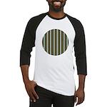 Green Pattern 002 Baseball Jersey
