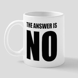 NO! Mug