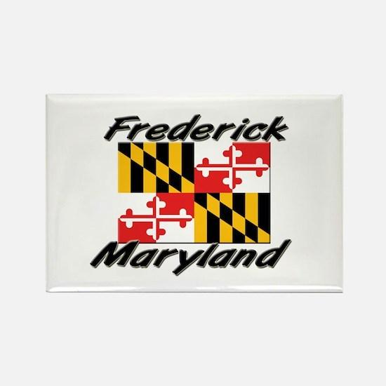 Frederick Maryland Rectangle Magnet
