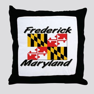 Frederick Maryland Throw Pillow