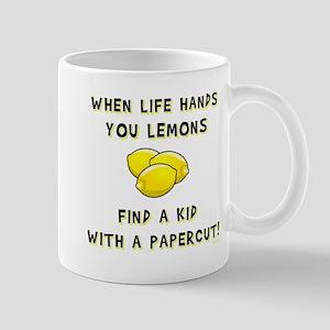 FIND A KID... Large Mugs