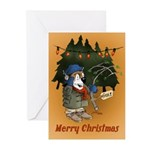 Gift Of The Yagi Holiday Greeting Cards (pk Of 10)