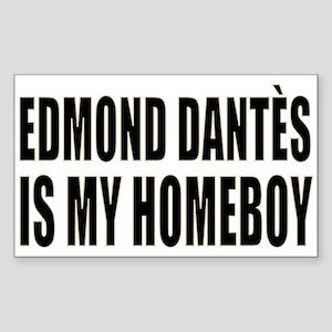 My Homeboy Edmond Sticker (Rectangle)