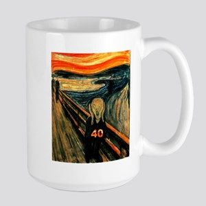 Scream 40th Large Mug