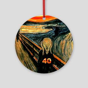 Scream 40th Ornament (Round)