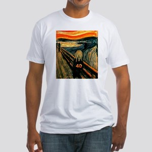 Scream 40th Fitted T-Shirt