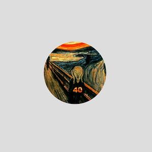 Scream 40th Mini Button