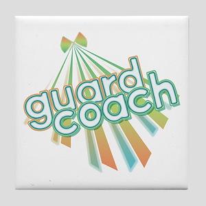 Retro Guard Coach Tile Coaster