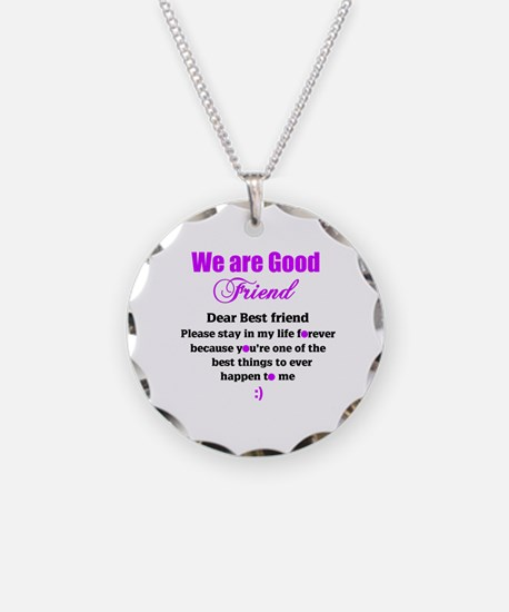Good Friend Necklace