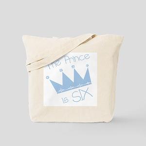 Prince I'm Six Tote Bag