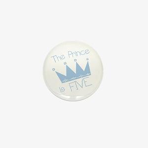 Prince I'm Five Mini Button