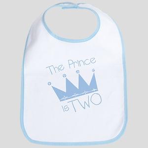 Prince I'm Two Bib