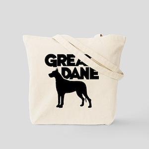 GREAT DANE (both sides) Tote Bag