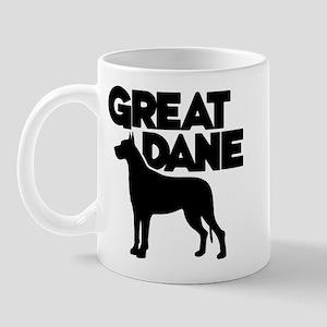 Great Dane Mug Mugs