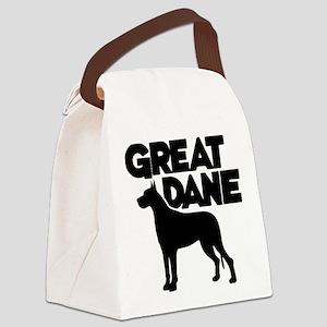 GREAT DANE Canvas Lunch Bag