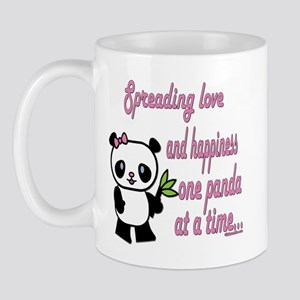 Spreading Love Pandas Mug
