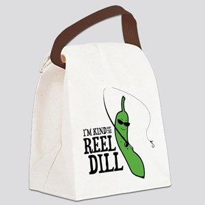 Reel Dill Canvas Lunch Bag