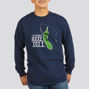 Reel Dill Long Sleeve Dark T-Shirt