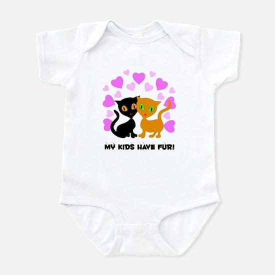 My Kids Have Fur Infant Bodysuit