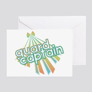 Retro Guard Captain Greeting Cards (Pk of 10)