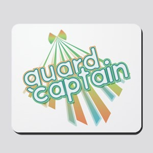 Retro Guard Captain Mousepad
