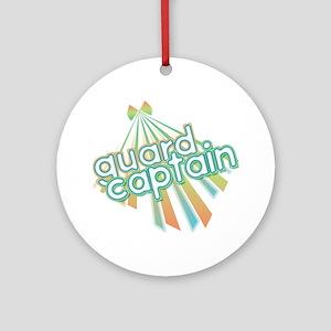 Retro Guard Captain Ornament (Round)