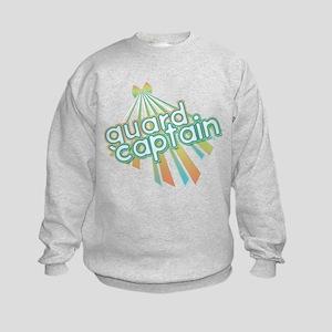 Retro Guard Captain Kids Sweatshirt