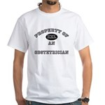 Property of an Obstetrician White T-Shirt