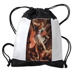 St. Michael the Archangel Drawstring Bag