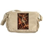 St. Michael the Archangel Messenger Bag