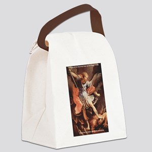 St. Michael the Archangel Canvas Lunch Bag