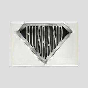 Super Husband(metal) Rectangle Magnet