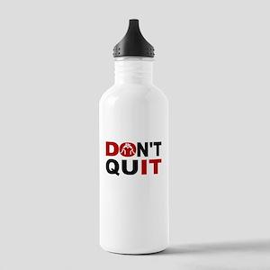 Dont Quit Wrestling Water Bottle