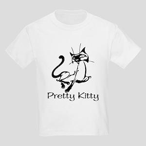 Pretty Kitty Kids Light T-Shirt