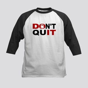 Dont Quit Weightlifting Baseball Jersey