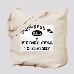 Property of a Nutritional Therapist Tote Bag