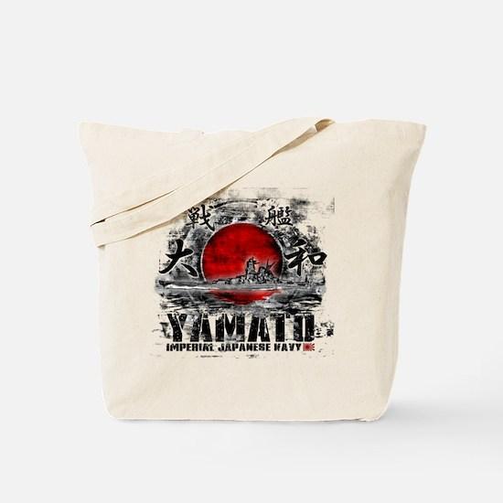 Battleship Yamato Tote Bag