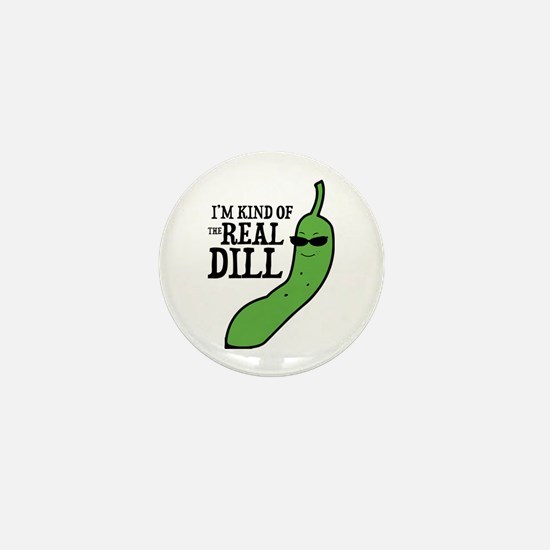 Real Dill Mini Button