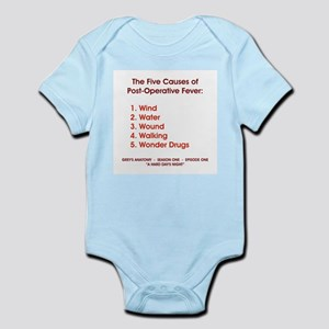 THE 5 CAUSES OF... Infant Bodysuit